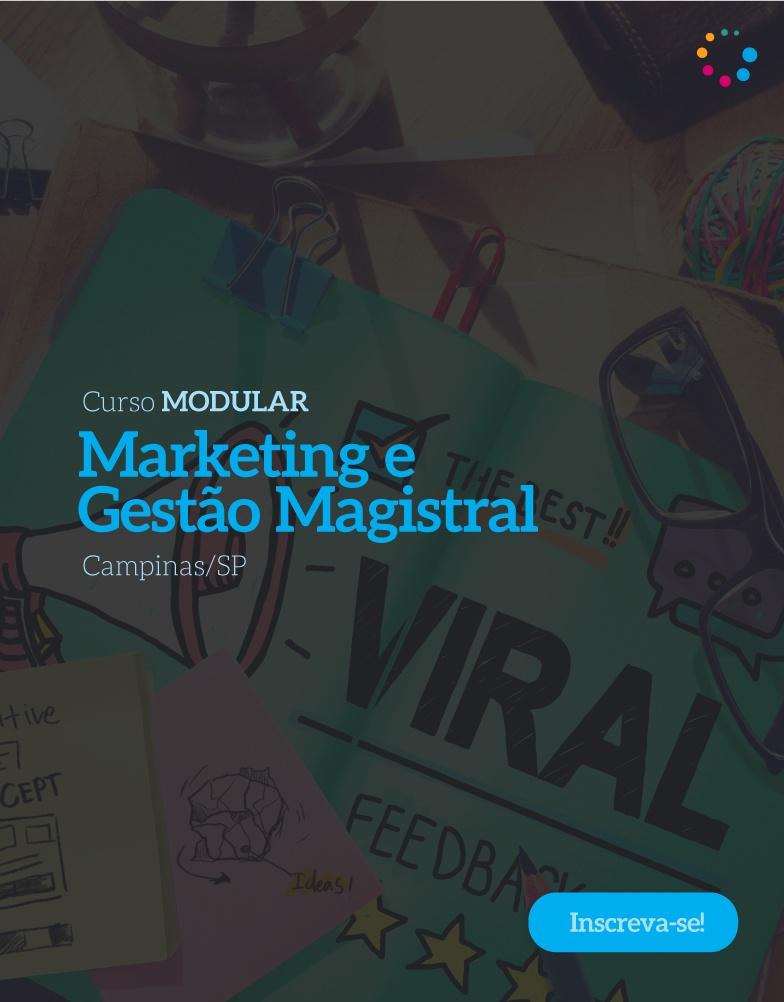 MARKETING E GESTÃO MAGISTRAL