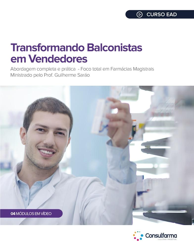 TRANSFORMANDO BALCONISTAS EM VENDEDORES