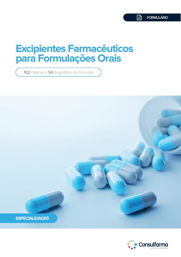 FORMULÁRIO DE EXCIPIENTES FARMACÊUTICOS PARA FORMULAÇÕES ORAIS