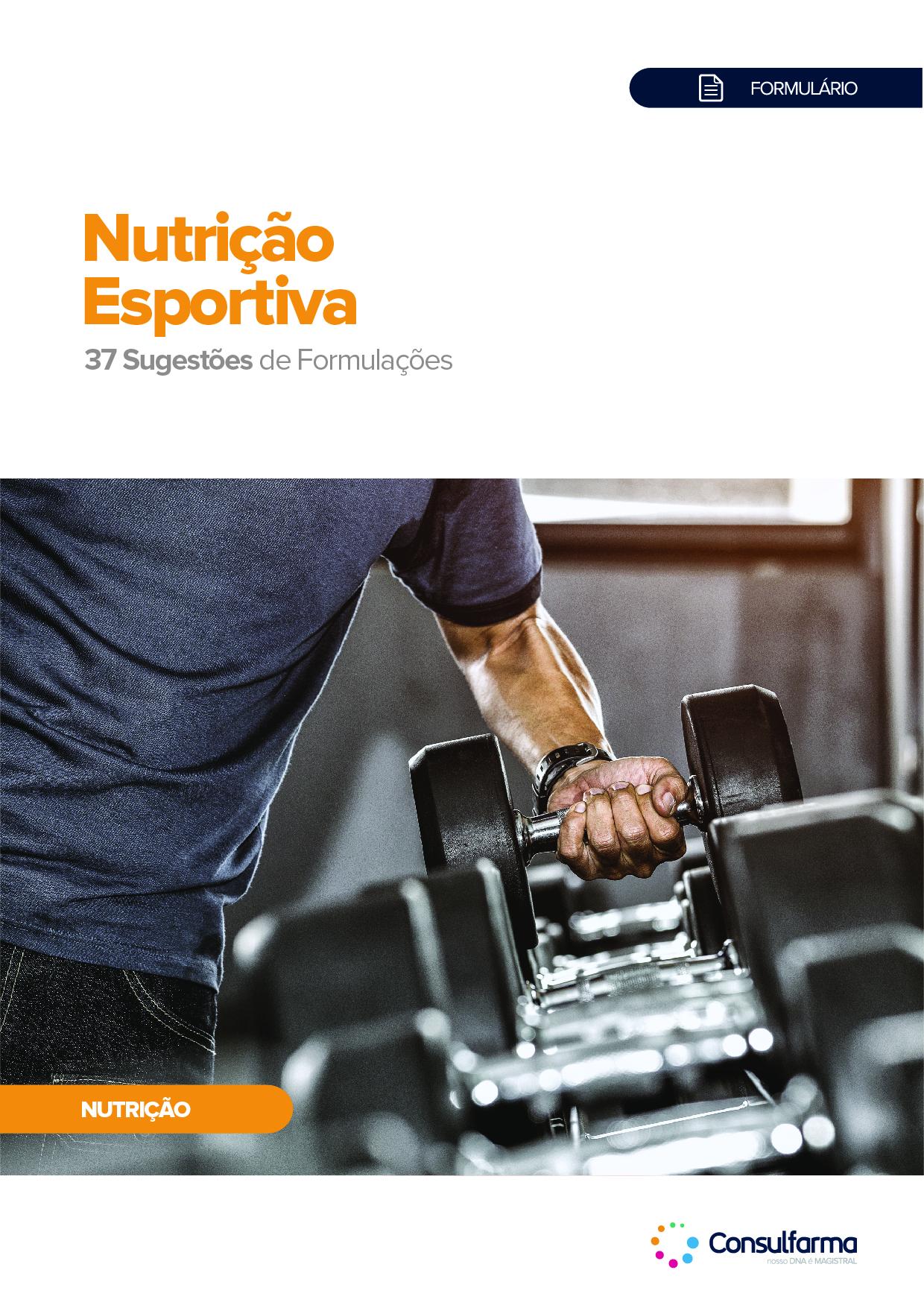 FORMULÁRIO DE NUTRIÇÃO ESPORTIVA - 2ª EDIÇÃO
