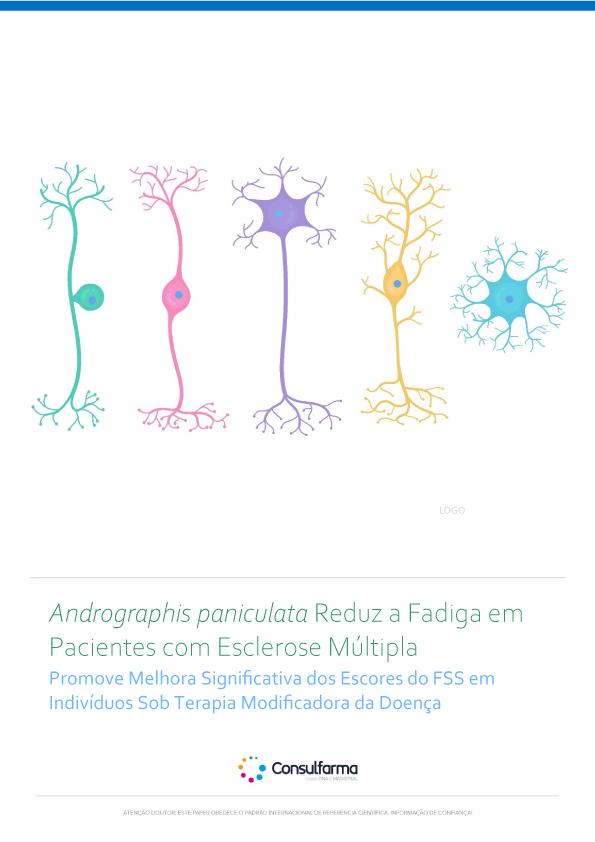 Andrographis paniculata Reduz a Fadiga em Pacientes com Esclerose Múltipla
