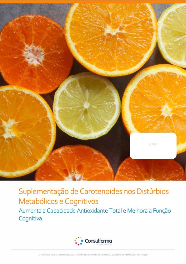 Suplementação de Carotenoides nos Distúrbios Metabólicos e Cognitivos