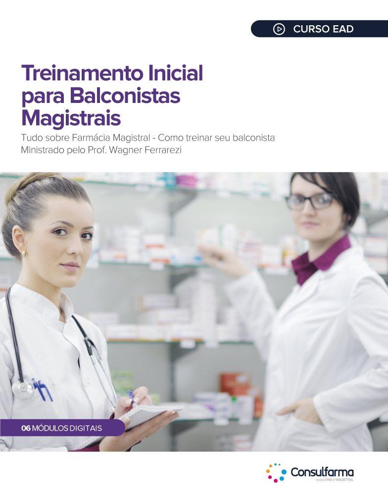 TREINAMENTO INICIAL PARA BALCONISTAS MAGISTRAIS